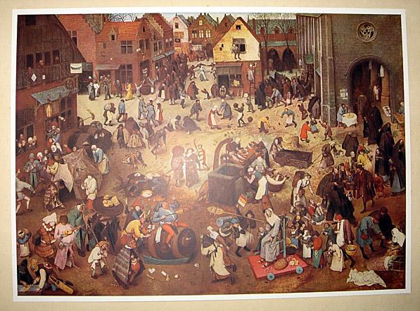 1937 Works Of Breugel by Gustav Gluck 1st ed Huge