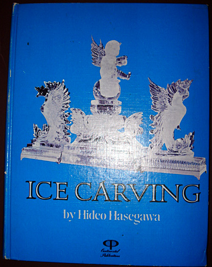 1974 Ice Carving by Hideo Hasegawa vgc Cookery