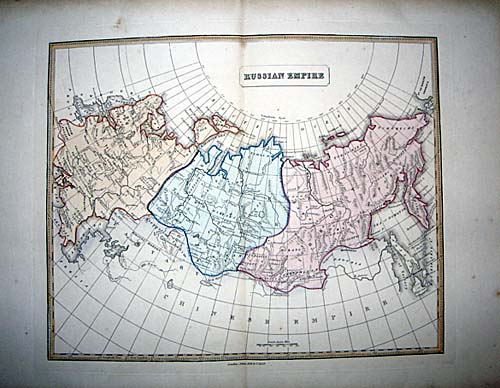 1839 Rare Map Austria by Allan Bell Must See