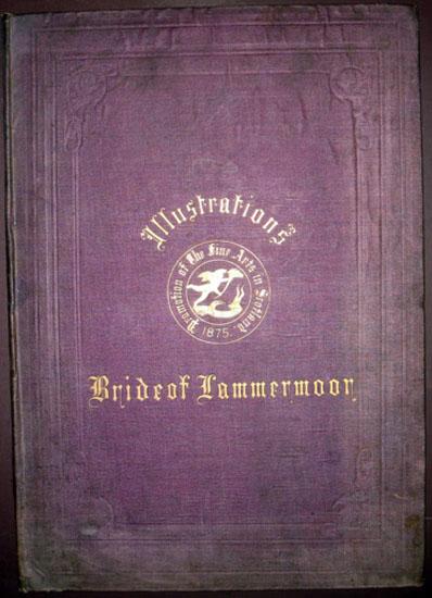 1875 Walter Scott Bride Lammermoor 6 x Folio Engravings